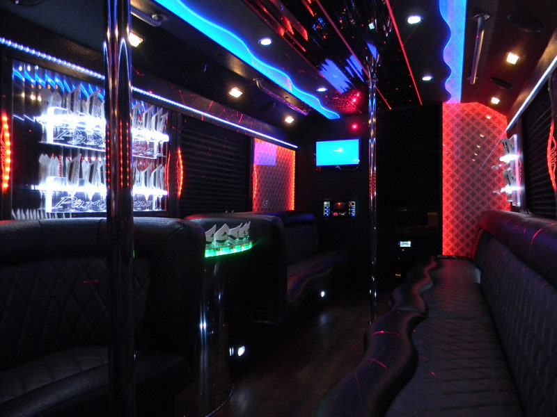 25 Passenger Party Bus