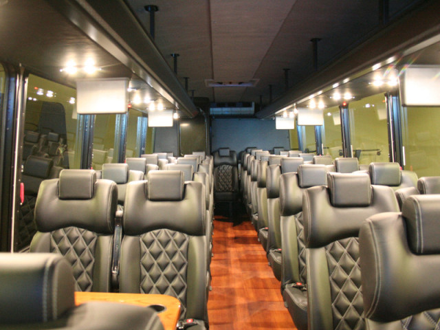 Luxury Coach Interior